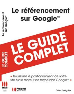 Livre Referencement Positionnement backlink netlinking linkbuilding web2.0 sur Google - site Internet web